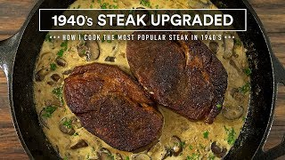 How I cooked the MOST Popular Steak from 1940's
