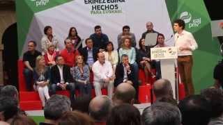 EAJ-PNV Mitin en Getxo 2015 4º/9