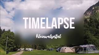 Timelapse im Kleinwalsertal - Camping Vorderboden