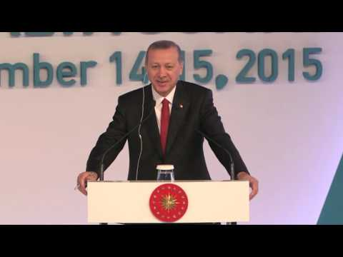 B20 Antalya Summit: G20 Leaders' Session- Speech of Prime Minister, Recep Tayyip Erdoğan, Nov 15th