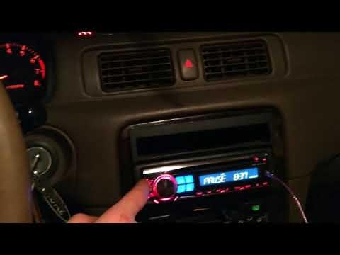 1999 Toyota Camry Dash Clock Mod