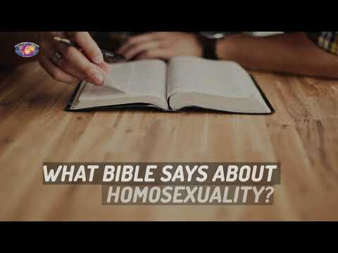 What bible says about homosexuality ?   #stand_with_Bible #stand_with_GOD thumbnail