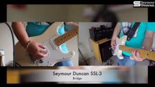 seymour duncan ssl 3 hot for strat set demo review