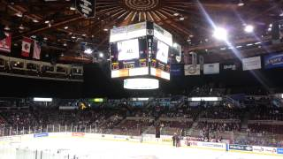 BBC News theme used at Vancouver Giants game intro