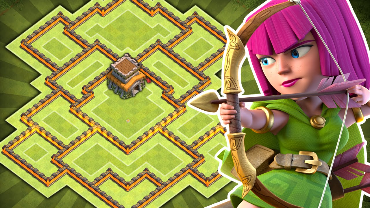 Th8 farming base new th11 december update coc town hall 8 hybrid