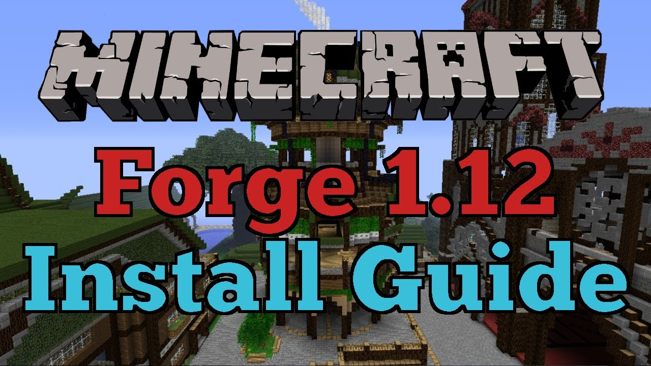 minecraft forge instructions