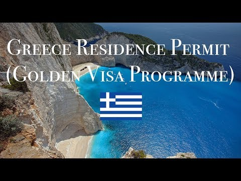 GREECE RESIDENCE BY INVESTMENT REQUIREMENTS (GOLDEN VISA) IN 2018