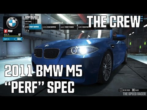 The Crew The Crew  BMW M5 2011 Perf Spec  Customization