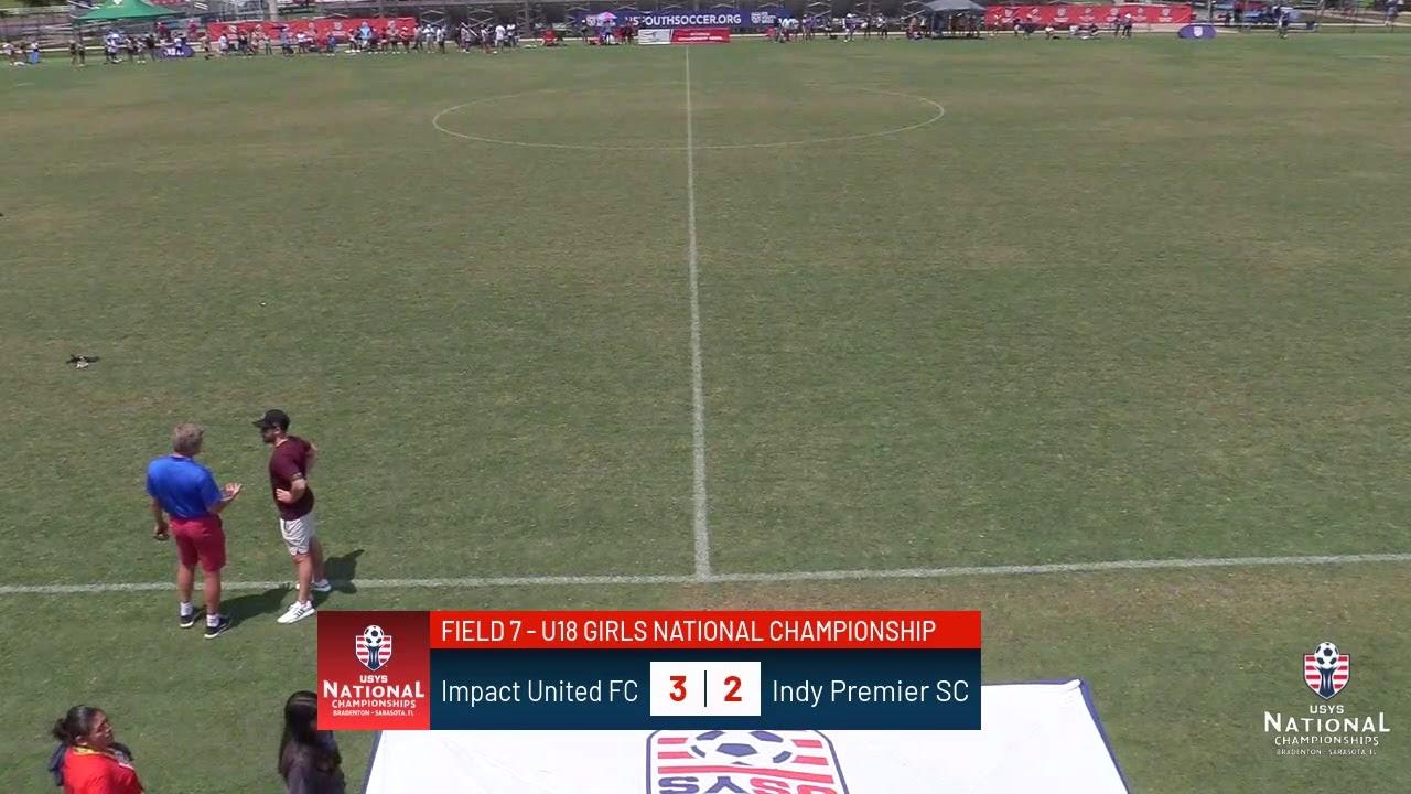Download 2021 US Youth Soccer Nationals: U18 Girls Final - Field 7 - 1030am