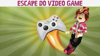 ESCAPE DO VÍDEO GAME - ROBLOX - ( Escape The PS4 Obby)