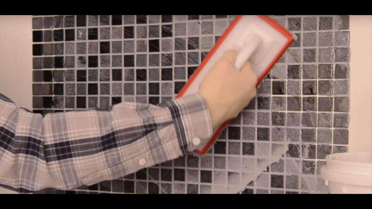 Realiser Le Joints D Un Carrelage Mural Youtube