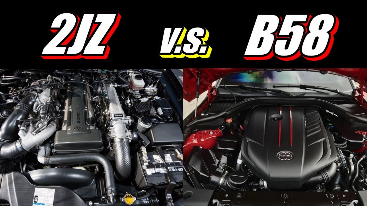 How does the new B58 compare to the 2JZ in the Supra? Hello