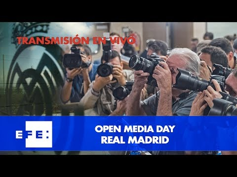 Open Media Day Real Madrid
