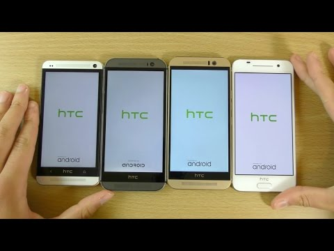 HTC One A9 VS M9 VS M8 VS M7 - Which is Fastest?