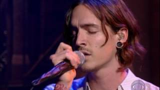 Incubus Talk Shows On Mute (Live @ Letterman)