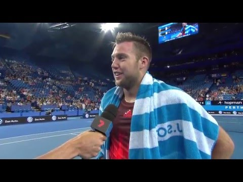 Jack Sock on-court interview (RR)