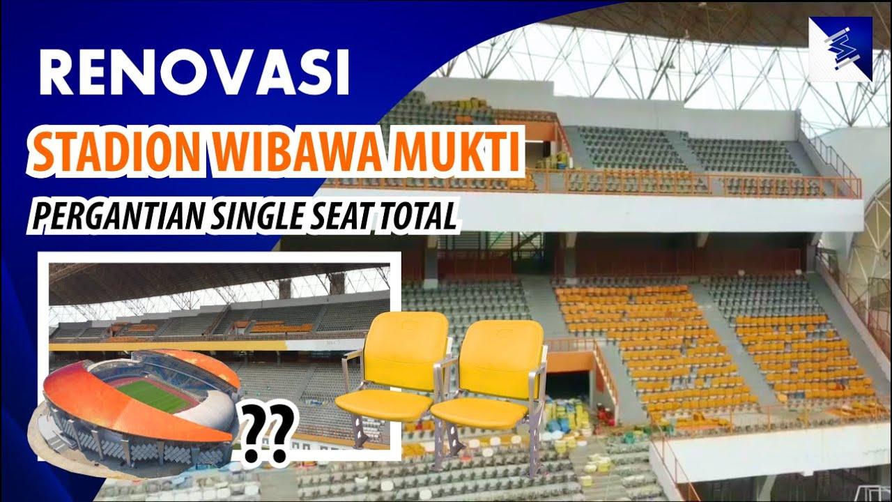 Stadion Wibawa Mukti Direnovasi, Single Seat Diganti TOTAL, Disiapkan Untuk Piala Dunia U-20 2021??