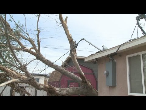 Albuquerque high winds result in morning power outages