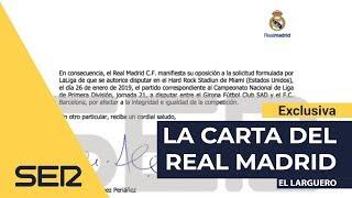 El Real Madrid desmonta los argumentos de Tebas para jugar en Miami