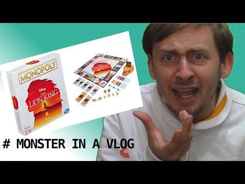 Un Monopoli... del Re Leone??? - Monster in a Vlog 013