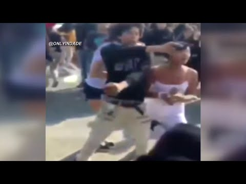 Videos Show Brawl Near Miami-Dade Public School Involved Gun
