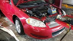 2006 - 2014 chevy impala battery replacement