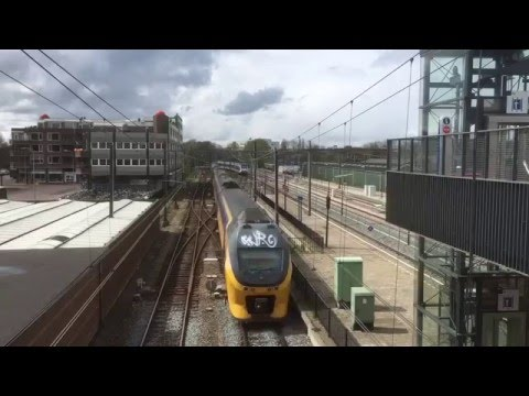 Dutch Railway Compilation, The Netherlands - April 2016