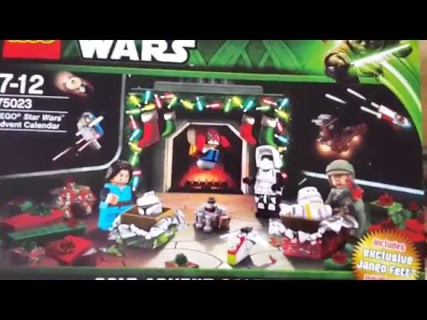 Lego Star Wars 2013 Advent Calendar Review (обзор)