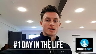 Day in the life of a Personal trainer I Vlog