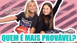 Baixar QUEM É MAIS PROVÁVEL ft. GIULIA NASSA | Rafa Gomes