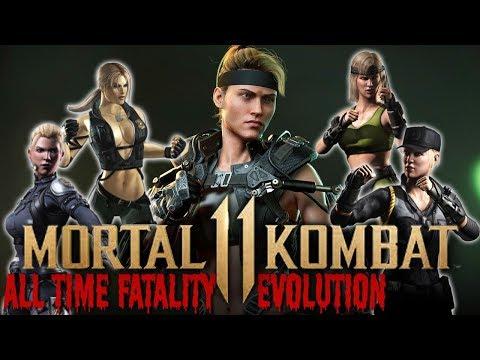 MORTAL KOMBAT  SONYA BLADE FATALITY EVOLUTION !!! MK to MK