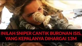 Inilah Sniper cantik Buronan ISIS, yang kepalanya dihargai 13M