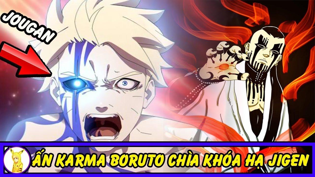 Ấn Diệt Thần Karma Của Boruto Có Thể Là Chìa Khóa Sẽ Hạ Gục Được Jigen Trong Anime Boruto
