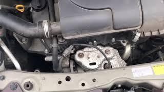 トヨタ「パッソ」エンジンから異常音