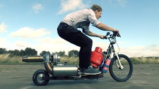 TurboJet Powered Scooter-IT'S ALIVE thumbnail