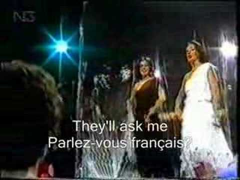 BACCARA PARLEZ-VOUS FRANÇAIS? ENGLISH KARAOKE INGLES