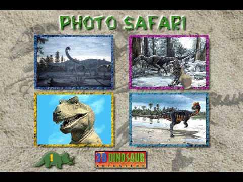 Dinosaur Safari from 3-D Dinosaur Adventure MS-DOS/Packard Bell Version Part 1