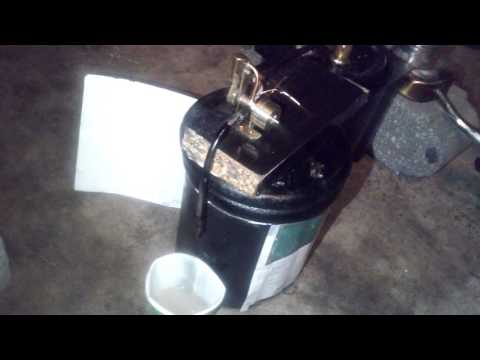 Homemade Displacement Lubricator For Mini Steam Engine
