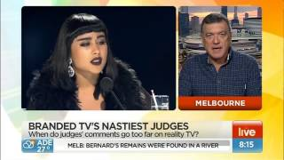 Shocking ! NZ X Factor judges firer after offensive outburts at contestant