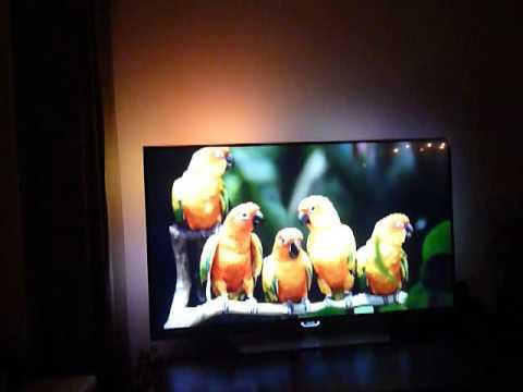 Philips 55PUK7150 Ambilight Test - Samsung Plasma TV