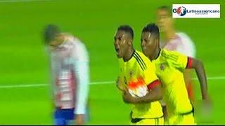 Colombia vs Paraguay 1-1 Gol de Ceter - Sudamericano Sub 20 - 18/01/2017