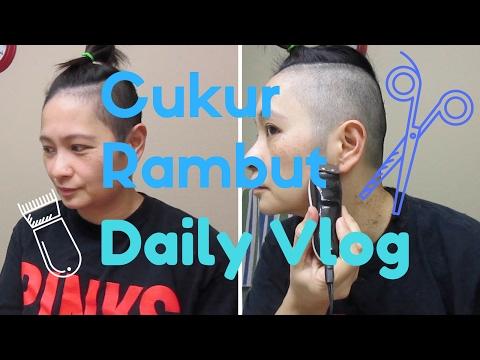 Cukur Kepala | Snow Storm |Daily Vlog