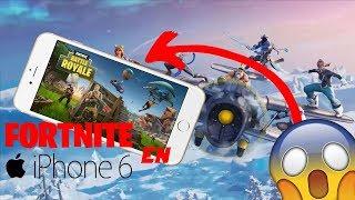 FORTNITE en iPhone 6? - Es posible jugar FORTNITE en el iPhone 6