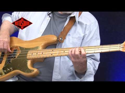 Mo Foster & Rotosound Swing Bass 66 Bass Guitar Strings