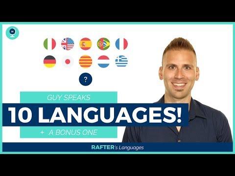 Polyglot speaks 10 languages + 1 | Rafter's Languages