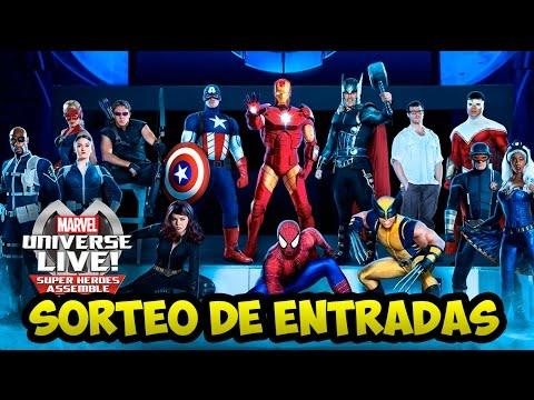 Sorteo 2 entradas para el Universe Marvel Live! + Quedada de Domingo | Strip Marvel