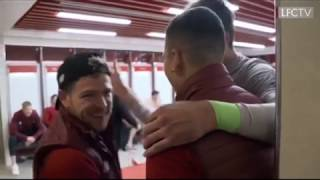 liverpool players and fans crazy reactions after liverpool vs barcelona match