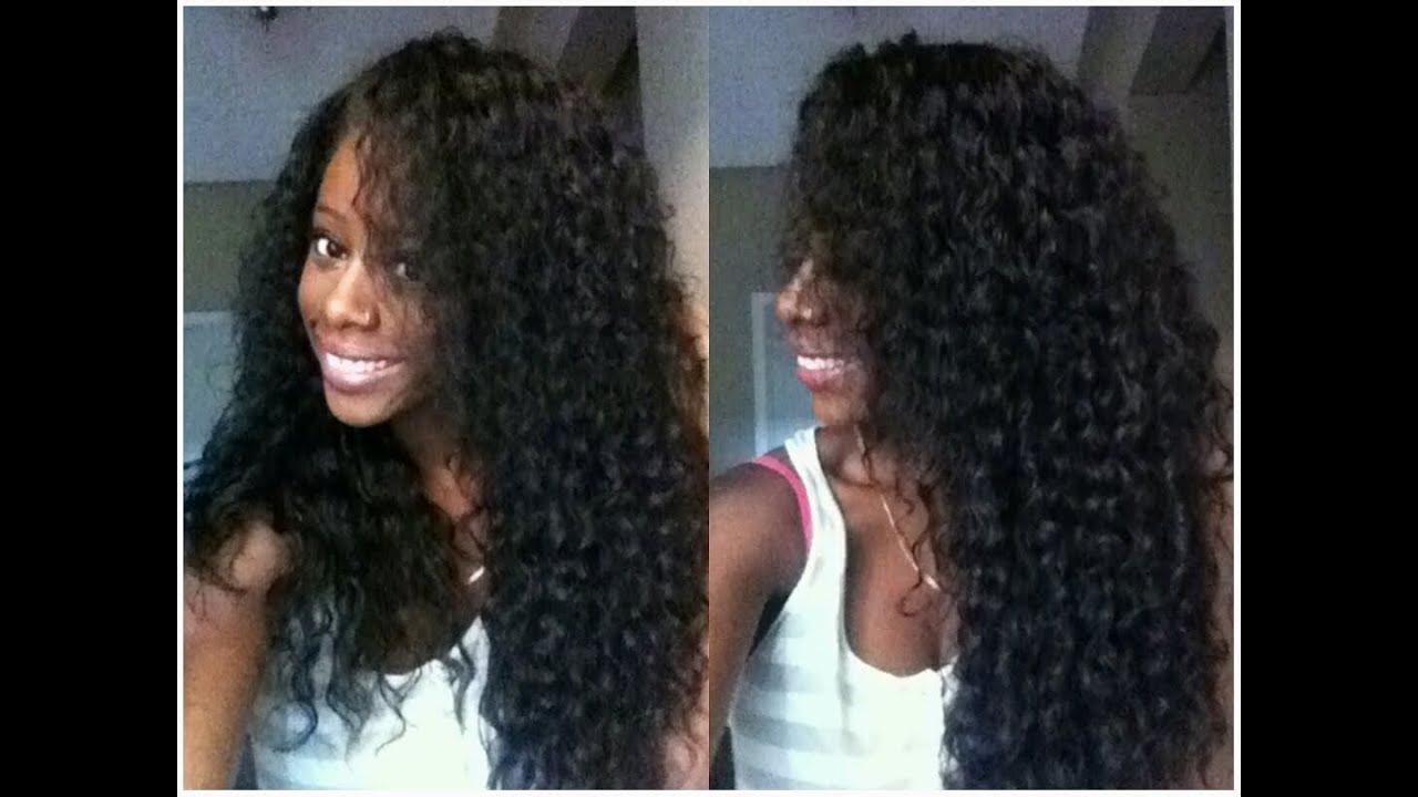 Initial Review Brazilian Wet N Wavy Vip Beauty Hair Youtube