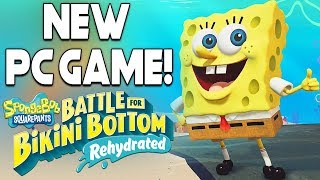 SPONGEBOB IS GETTING A NEW PC GAME + INSANE PC GAME DEALS!