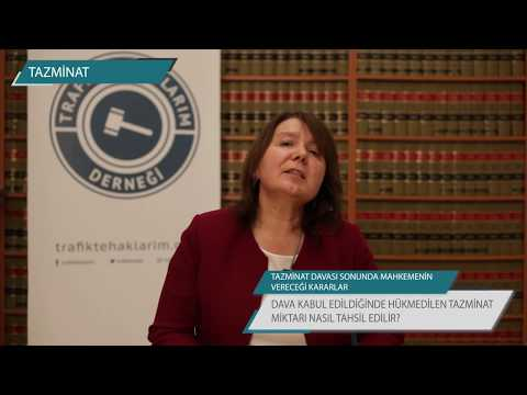 Tazminat Davası Sonunda Mahkeme Kararı